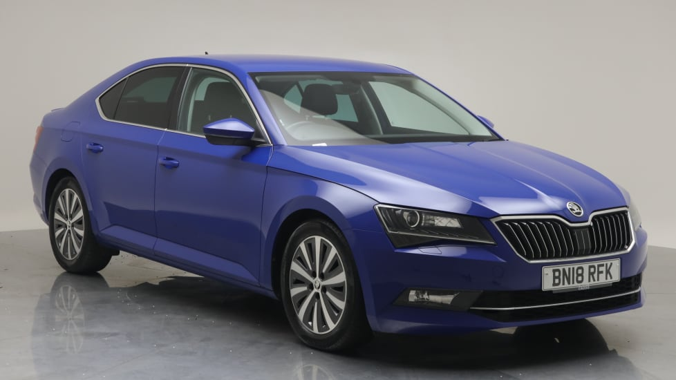 2018 Used Skoda Superb 1.6L SE L Executive Greenline TDI