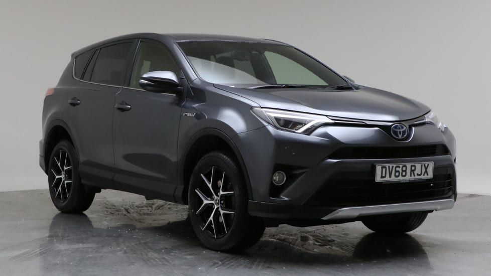 2018 Used Toyota RAV4 2.5L Design VVT-h