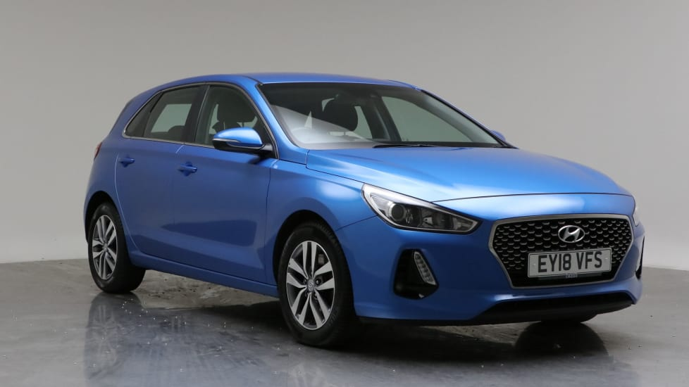 2018 Used Hyundai i30 1.6L SE Nav Blue Drive CRDi