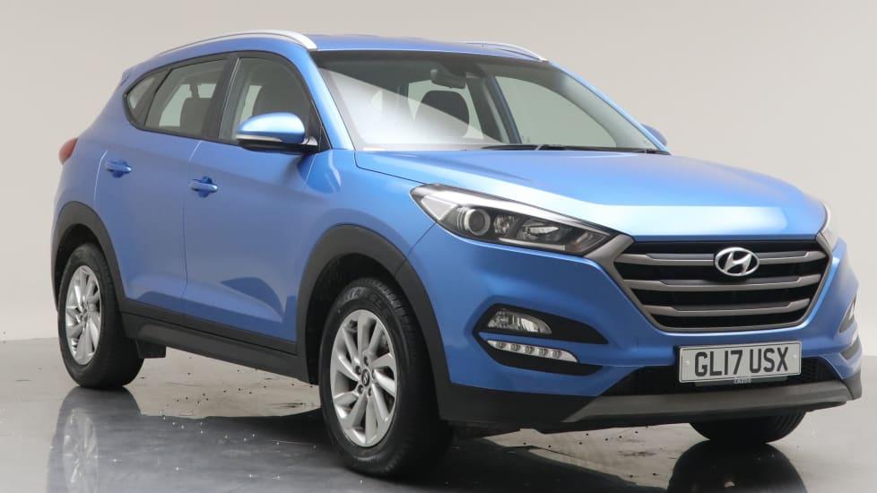 2017 Used Hyundai Tucson 1.7L SE Nav Blue Drive CRDi