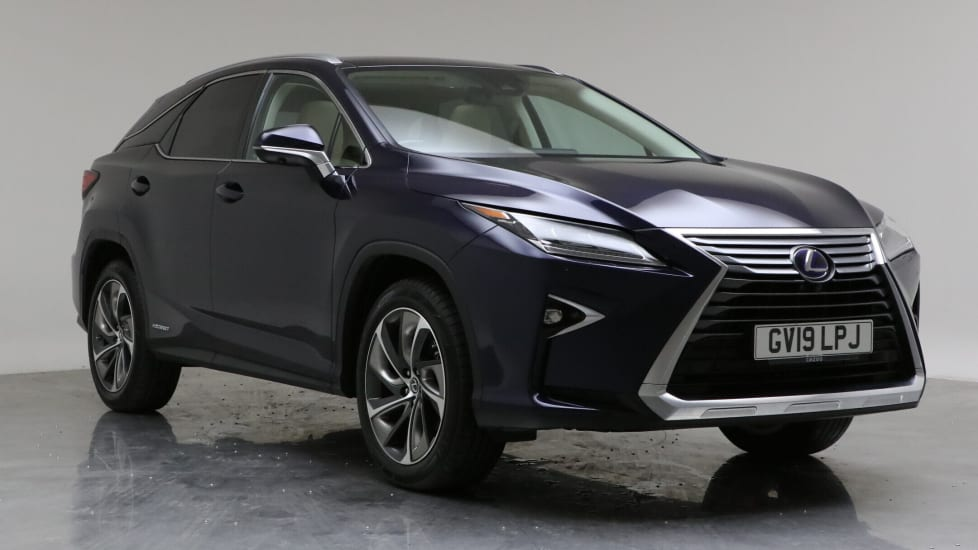 2019 Used Lexus RX 450h 3.5L Takumi h V6