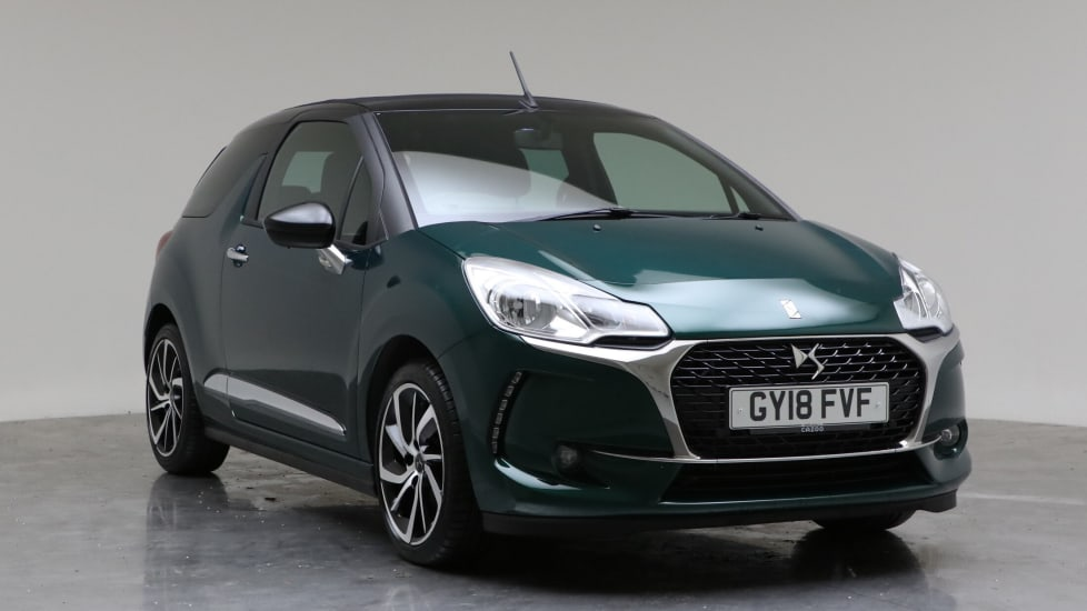 2018 Used DS DS 3 CABRIO 1.2L Connected Chic PureTech