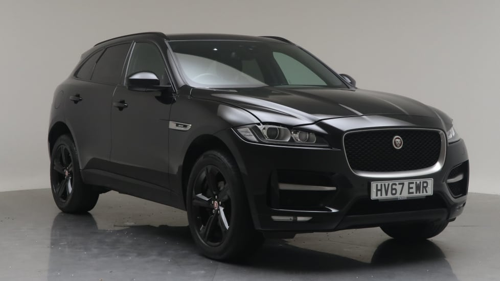 2017 Used Jaguar F-PACE 2L R-Sport Black Edition d
