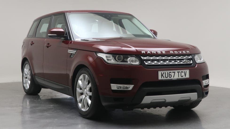 2017 Used Land Rover Range Rover Sport 3L HSE SD