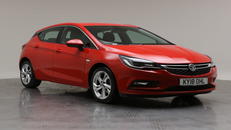 2018 Used Vauxhall Astra 1.4L SRi Nav i Turbo