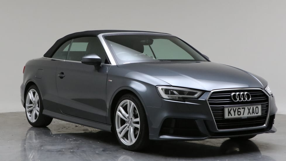 2017 Used Audi A3 Cabriolet 1.5L S line CoD TFSI