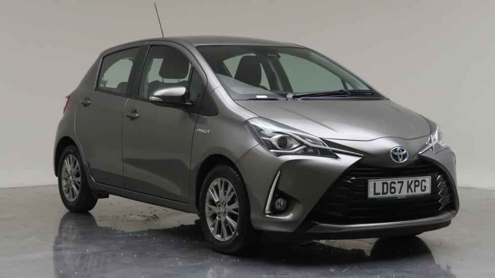 2017 Used Toyota Yaris 1.5L Icon Tech VVT-h