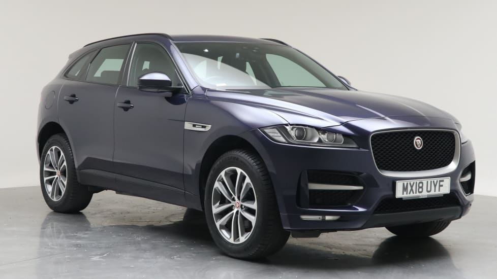2018 Used Jaguar F-PACE 2L R-Sport Black Edition d