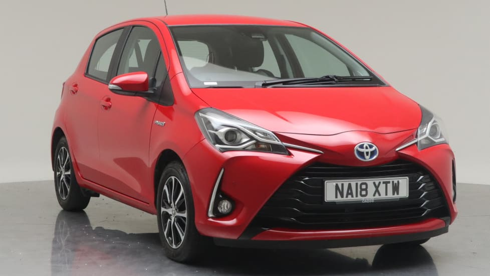 2018 Used Toyota Yaris 1.5L Icon Tech VVT-h