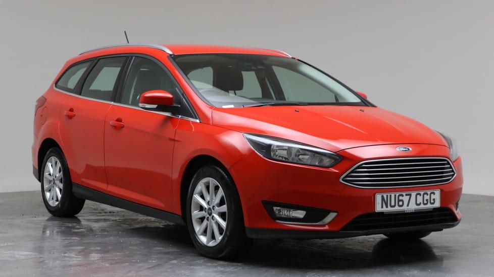 2017 Used Ford Focus 1L Titanium EcoBoost T