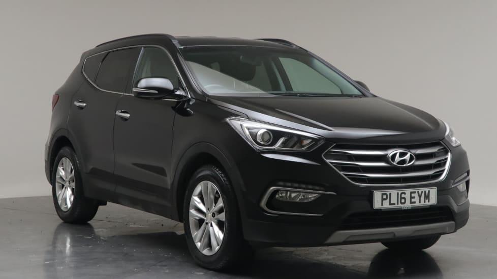 2016 Used Hyundai Santa Fe Premium Blue Drive CRDi