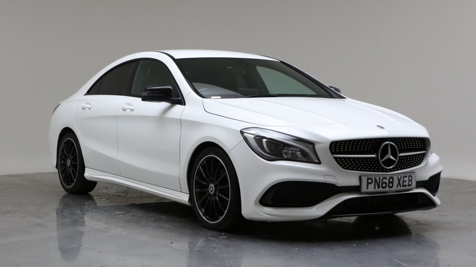 2018 Used Mercedes-Benz CLA Class 1.6L AMG Line Night Edition CLA200
