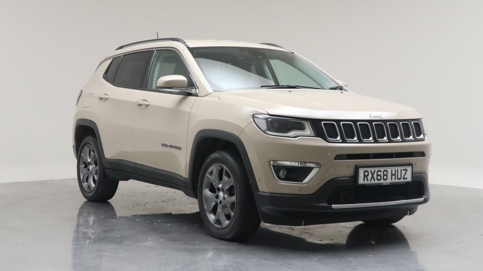 2018 Used Jeep Compass 1.4L Limited MultiAirII T