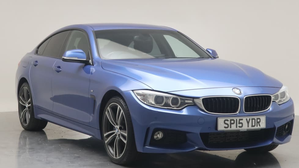 2015 Used BMW 4 Series Gran Coupe 2L M Sport 420d