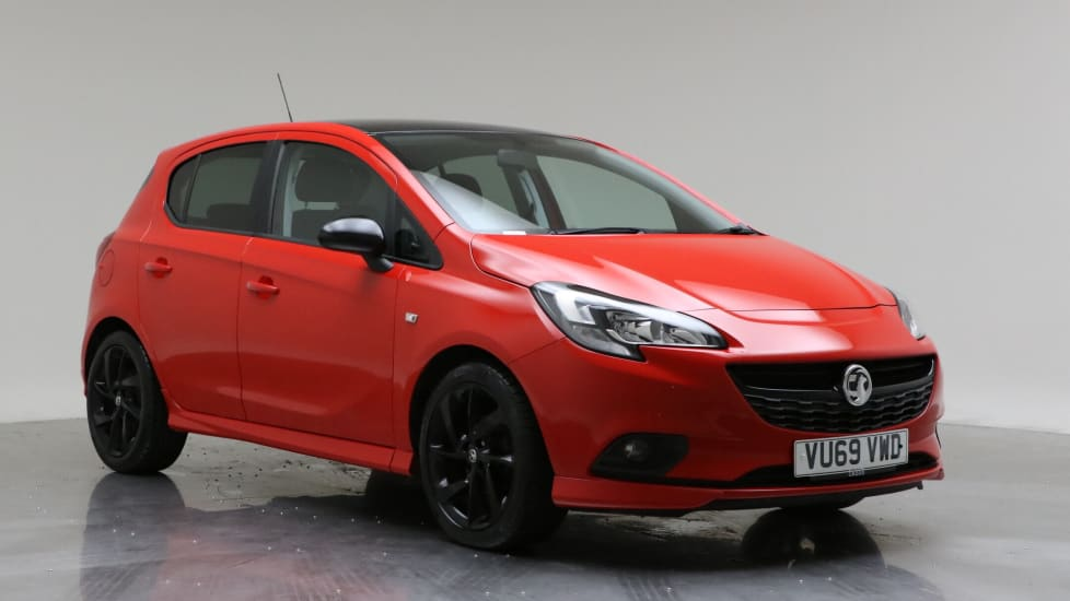 2019 Used Vauxhall Corsa 1.4L SRi VX Line Nav Black i