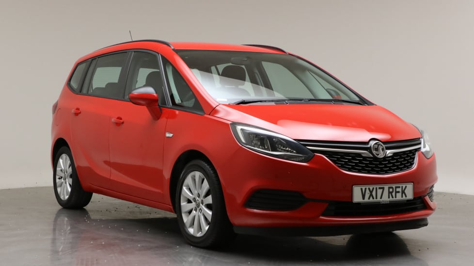 2017 Used Vauxhall Zafira Tourer 1.4L Design i Turbo