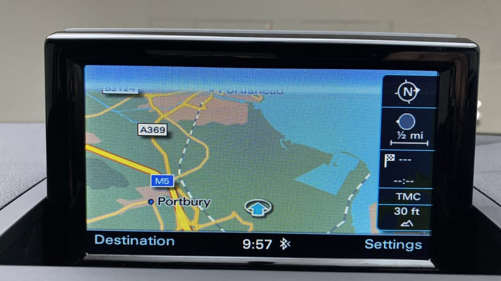 Working Sat Nav