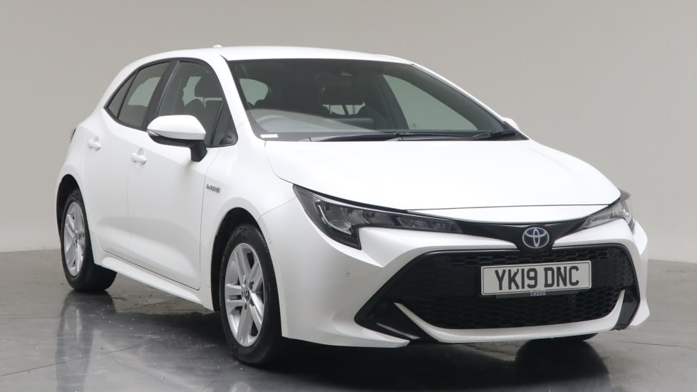 2019 Used Toyota Corolla 1.8L Icon Tech VVT-h
