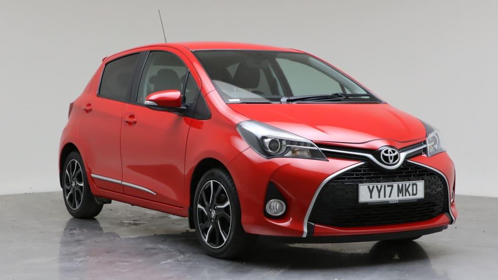 2017 Used Toyota Yaris 1.3L Design Dual VVT-i