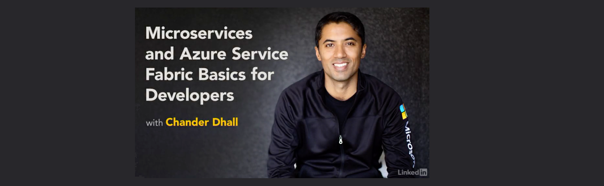 Microservices and Azure Service Fabric Basics for Developers - By Chander Dhall