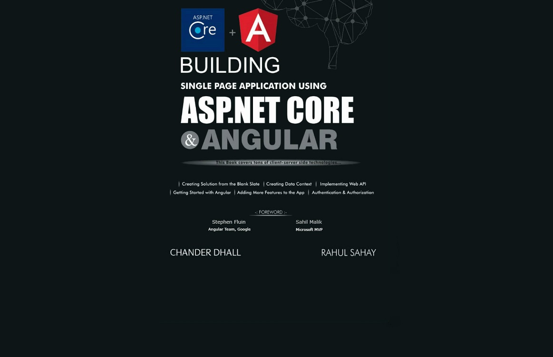 Building SPA using ASP.NET Core & Angular