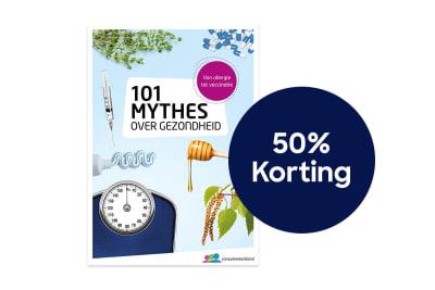 101 Mythes over gezondheid 50% korting 1200x800