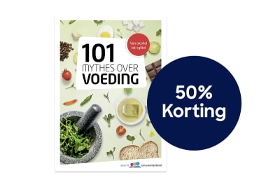 101 Mythes over Voeding 50% korting 1200x800