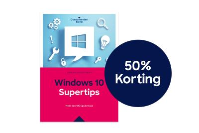 Windows 10 Supertip 50% korting 1200x800