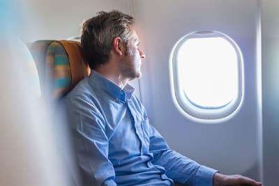 vliegen en reizen