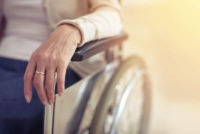 verzorghuis rolstoel