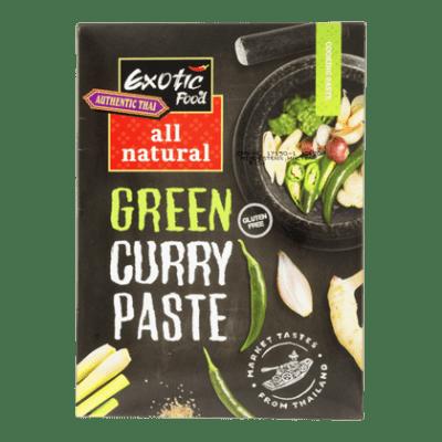 Groene curry - Exotic food Groene curry kruidenpasta all natural