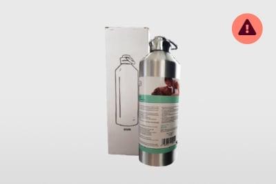 WAARSCHUWING Aluminium Bedkruik II 1200x800