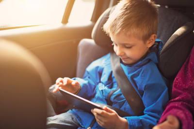 Kinder in de auto