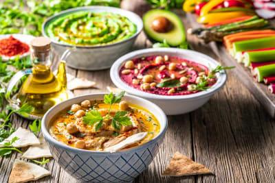 Hummus diverse smaken