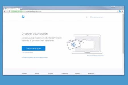 Een-Dropbox-map-synchroniseren