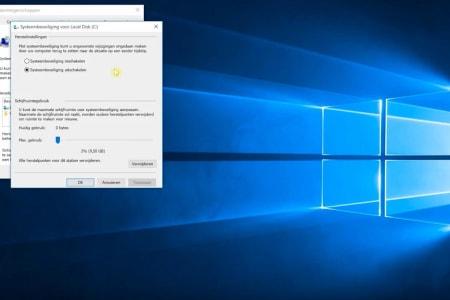 Windows-Systeemherstel-gebruiken
