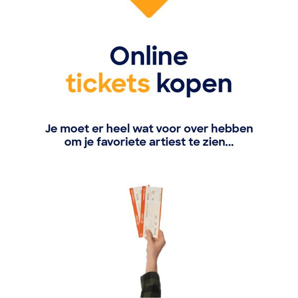 Ergenissen online ticketverkoop