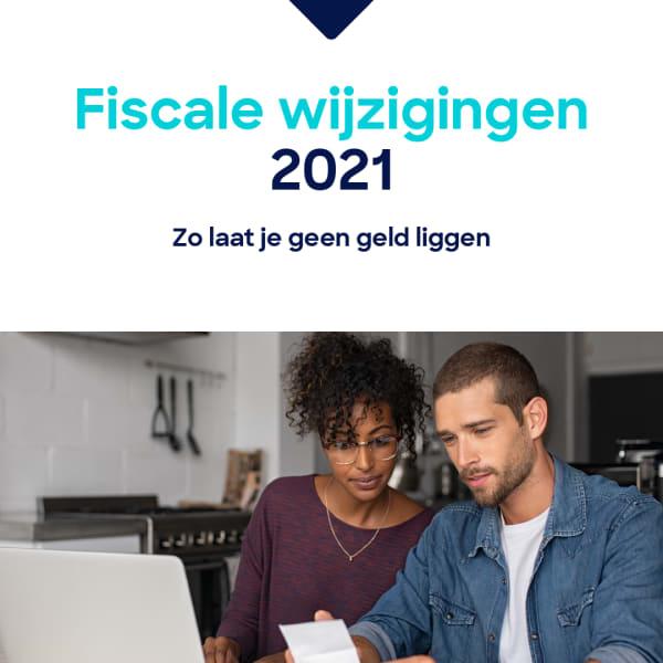 Fiscale wijzigingen 2021-07