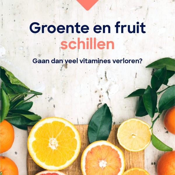 Groente en fruit schillen-07