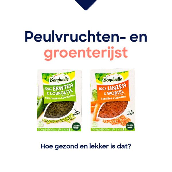 peulvruchten en groenterijst