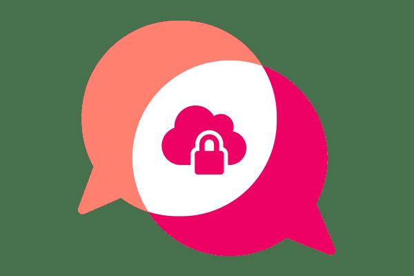 Digitaal privacy icoon