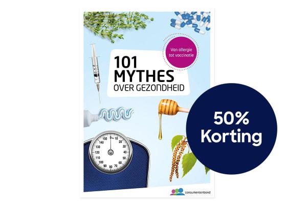 101 mythes gezond 50% korting 1200X800