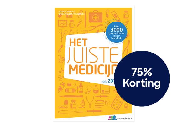 Het juiste medicijn 75% korting 1200X800