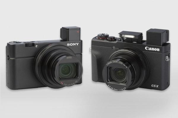 Sony Cyber-shot DSC-RX100 VII en Canon PowerShot G5 X II