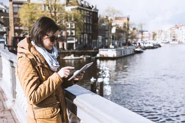 tablet-buiten-amsterdam