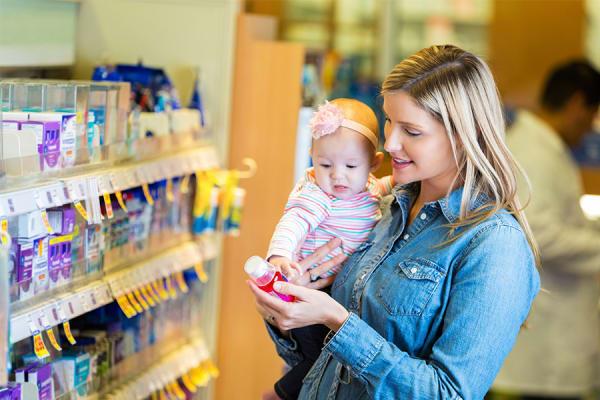 Vitamines voor baby's