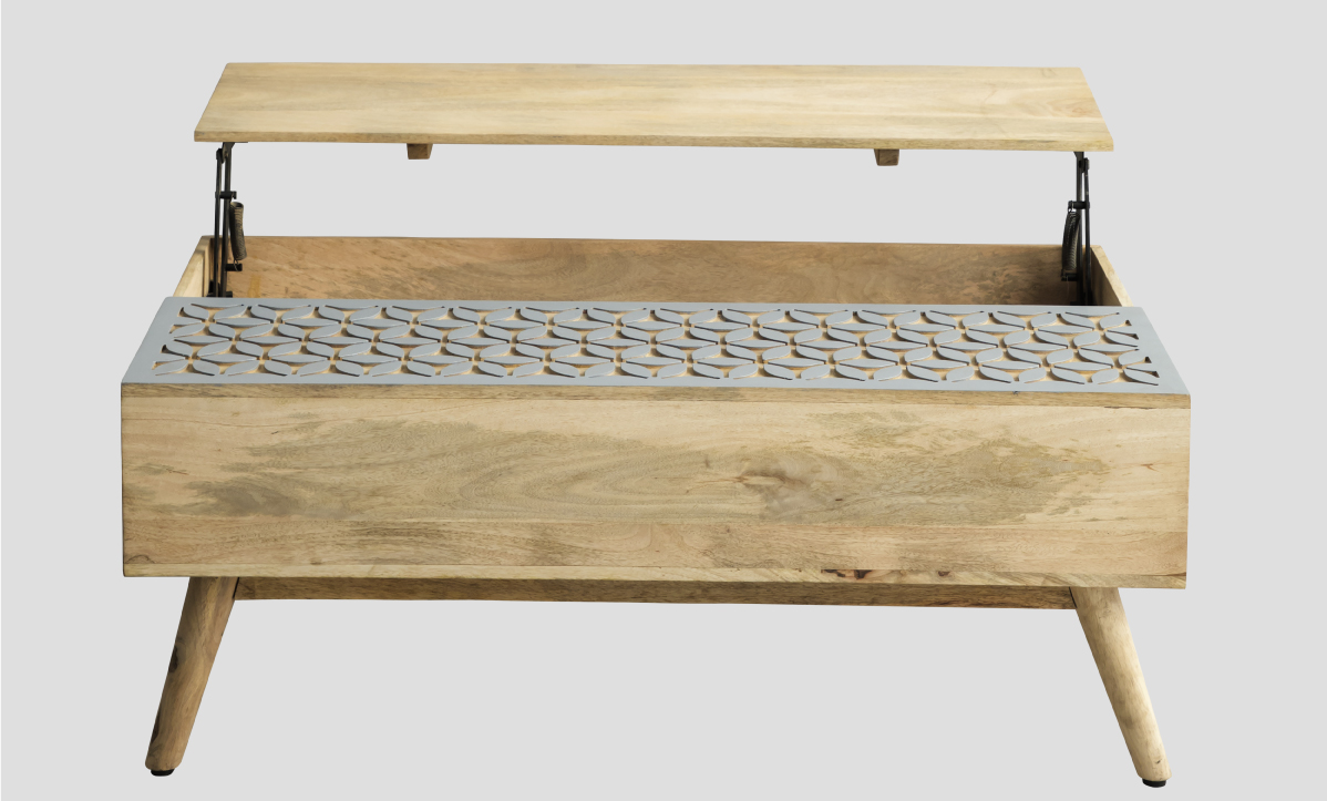 Coffee tables with hidden storage