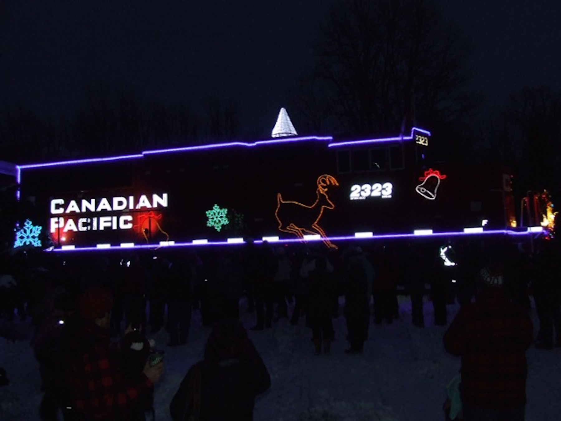 Canadian Pacific lights