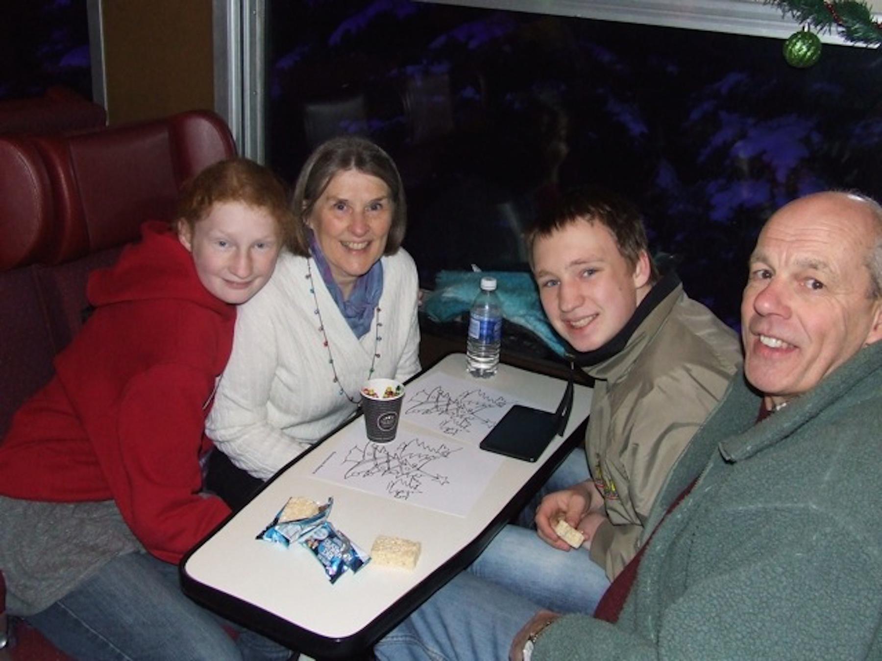 Train Cabin photo