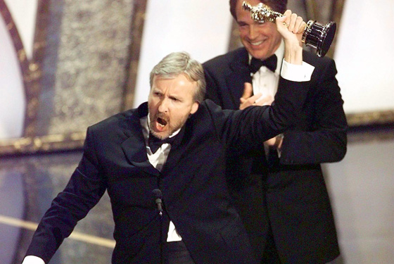 James Cameron winning Oscars